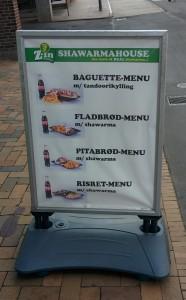 Baguette-menu, tandoorikylling